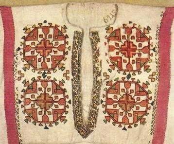 Чувашская народная вышивка орнамент