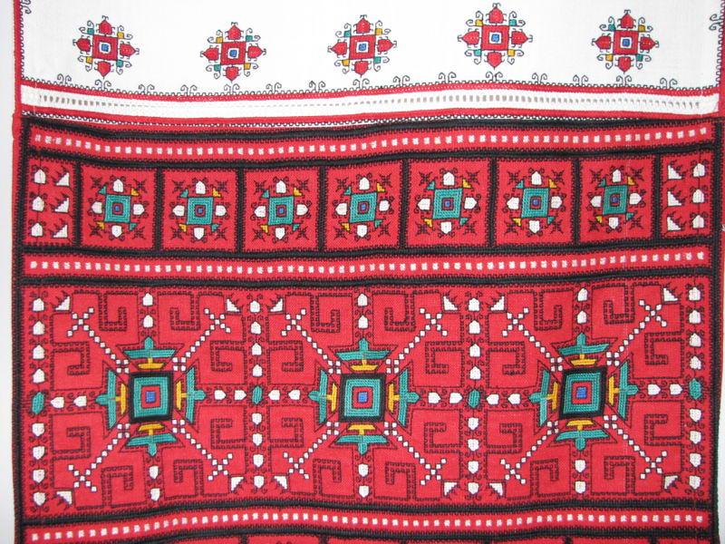 Чувашская народная вышивка и орнамент